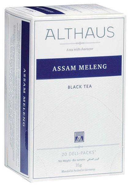 Чай черный Althaus Assam Meleng в пакетиках