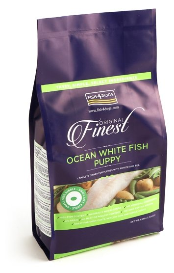 Корм для собак Fish4Dogs Finest Ocean White Fish Puppy - Small Bite