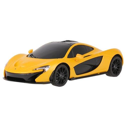 Купить Легковой автомобиль Rastar McLaren P1 (75200) 1:24 18 см желтый, Радиоуправляемые игрушки