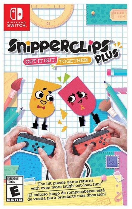 Nintendo Snipperclips: Cut It Out, Together!