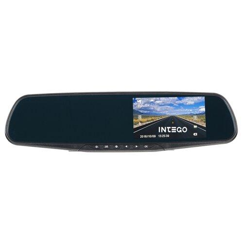 Видеорегистратор Intego VX-420MR черный видеорегистратор intego vx 306dual