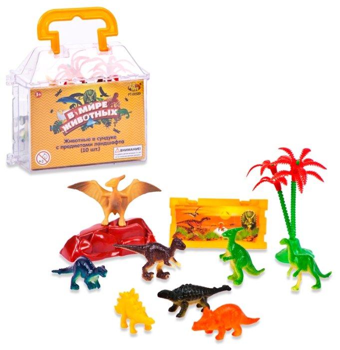 Игровой набор ABtoys В мире животных - Динозавры PT-00589