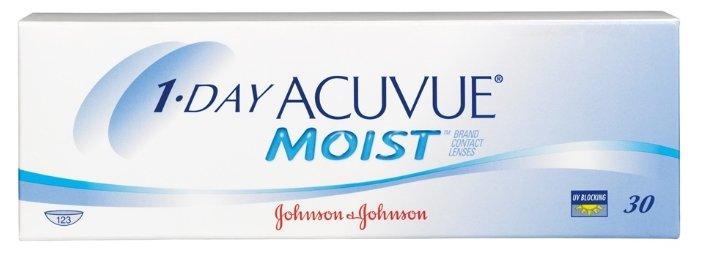 Контактные линзы ACUVUE 1-Day Acuvue Moist Однодневные, 30 шт. -3.50