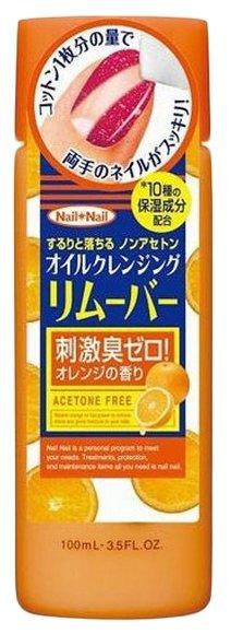 B&C Labs Жидкость для снятия лака Nail Oil Remover с апельсиновым маслом без ацетона