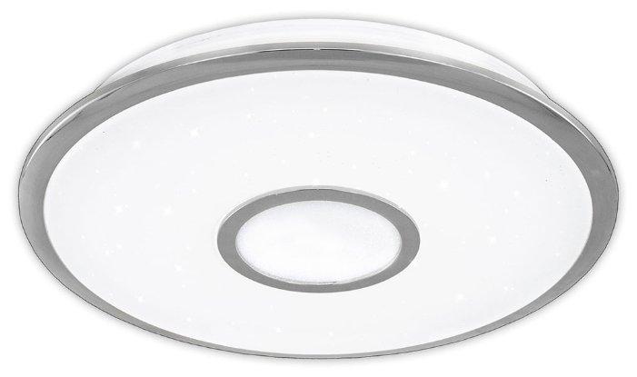 Люстра потолочная светодиодная с пультом Citilux Старлайт R CL70330R Хром