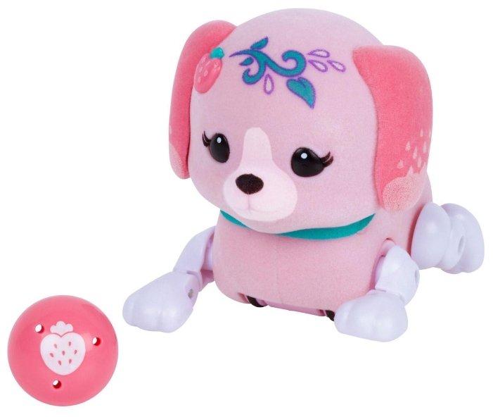 Интерактивная игрушка робот Moose Little Live Pets Щенок с мячиком