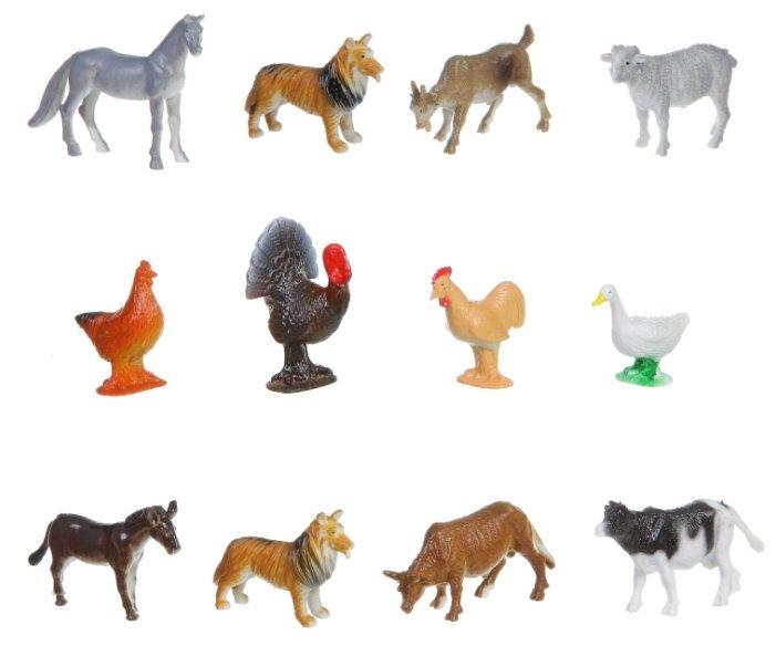 Игровой набор BONDIBON Ребятам о зверятах - Домашние животные и птицы ВВ1633