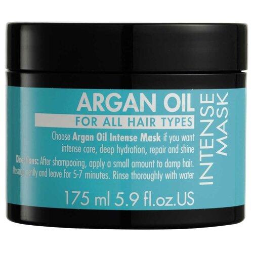 GOSH Argan Oil Интенсивная маска для волос с аргановым маслом, 175 мл интенсивная маска для восстановления волос с аргановым маслом hask argan oil repairing deep conditioner packet 50 мл