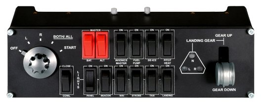 Панель Logitech Flight Switch Panel