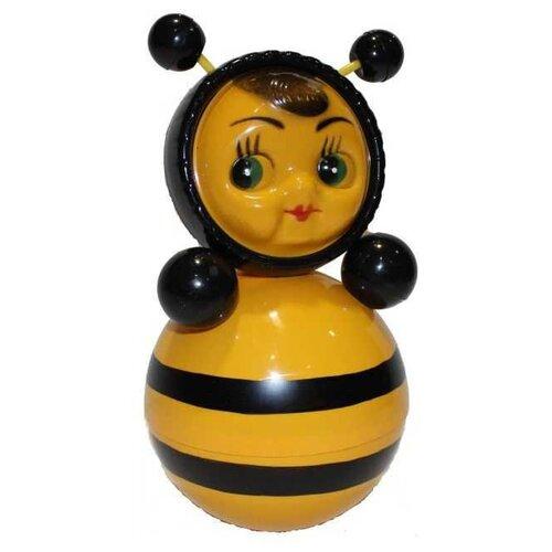 Купить Неваляшка Котовские неваляшки Пчела (6С-011) 22 см желтый/черный, Неваляшки