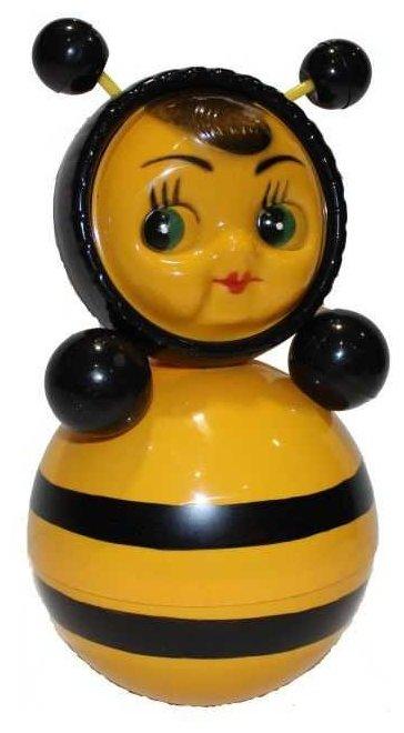 Неваляшка Котовские неваляшки Пчела (6С-0011) 22 см желтый/черный