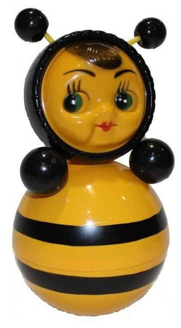 Неваляшка Котовские неваляшки Пчела (6С-0011) 22 см