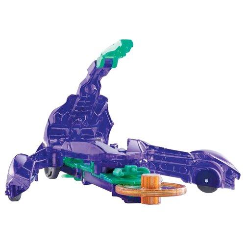Интерактивная игрушка трансформер РОСМЭН Дикие Скричеры. Линейка 1. Стингшифт (34819) фиолетовый интерактивная игрушка трансформер росмэн дикие скричеры линейка 2 манкиренч 34825 красный