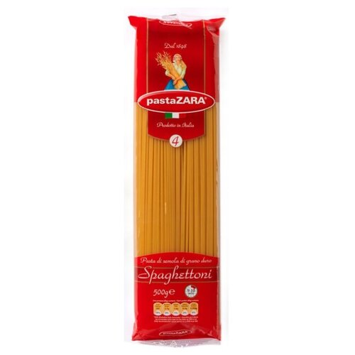 Pasta Zara Макароны 004 Spaghettoni, 500 г