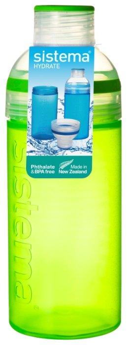 Бутылка Sistema Hydrate 830 питьевая Трио 0.58 л