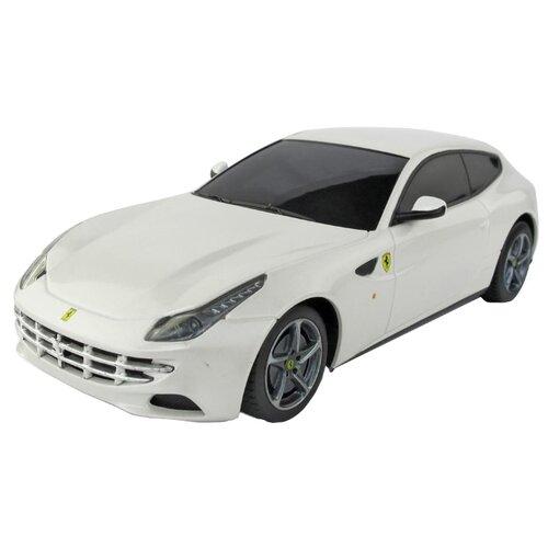 Купить Легковой автомобиль Rastar Ferrari FF (46700) 1:24 19 см белый, Радиоуправляемые игрушки