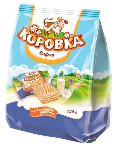 Мини вафли Коровка вкус Топленое молоко 150 г