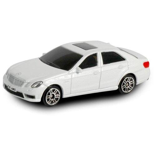 Купить Легковой автомобиль RMZ City Mercedes Benz E63 AMG (344999S) 1:64 7.6 см белый, Машинки и техника