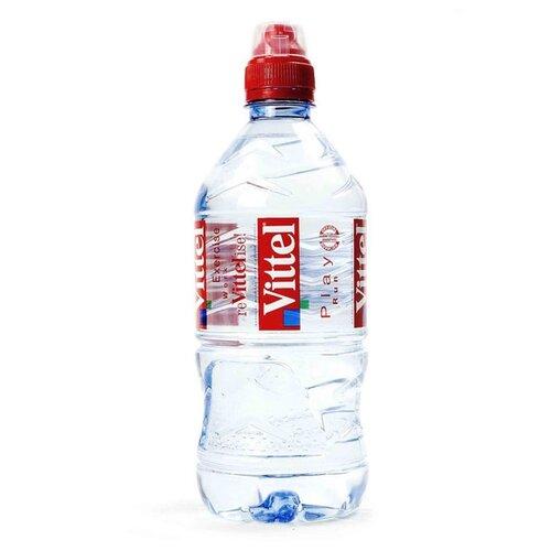Минеральная вода Vittel негазированная, ПЭТ спорт, 0.33 л