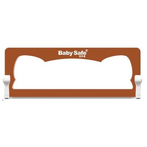 Baby Safe Барьер на кроватку Ушки 120х42 см XY-002A.CC коричневый