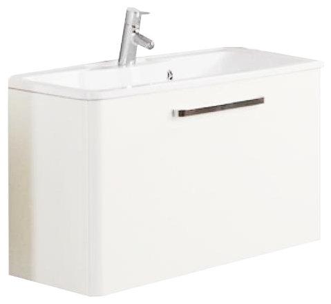 Тумба для ванной комнаты АКВАТОН Валенсия М 75 (1A123601VAG30)