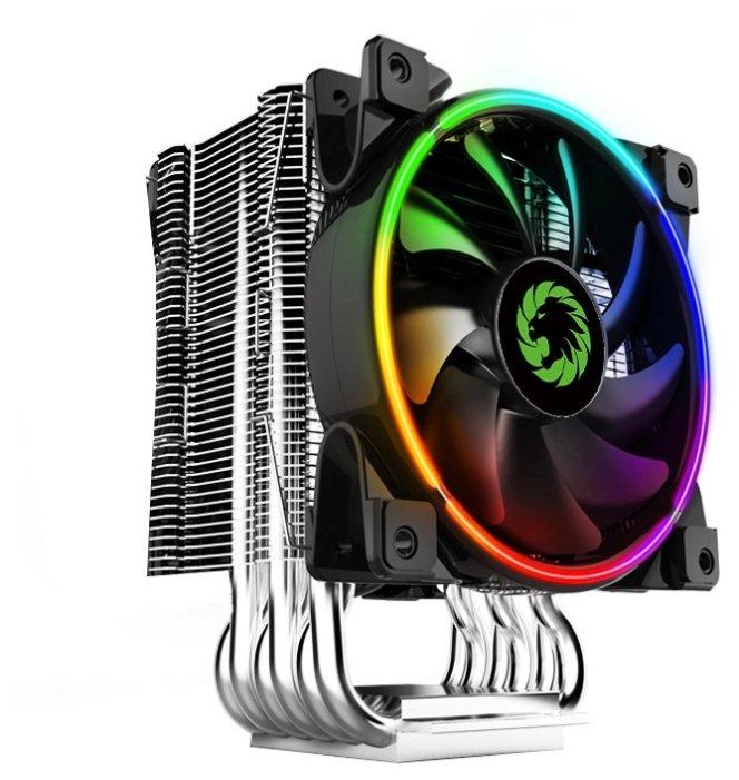 Кулер для процессора GameMax GAMMA 500 Rainbow — сколько стоит? Выбрать на Яндекс.Маркете