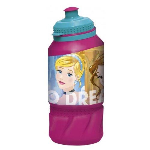Бутылка для воды, для безалкогольных напитков Stor спортивная 0.42 пластик Принцессы Дружные приключения