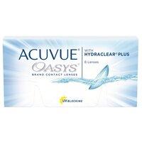 Acuvue OASYS with HYDRACLEAR Plus (6 линз) Контактные линзы Johnson Johnson двухнедельные