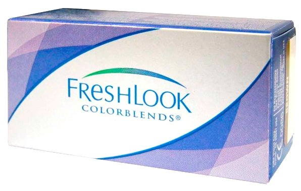 Контактные линзы FreshLook (Alcon) ColorBlends (2 линзы) R 8,6 D -3 sterling gray