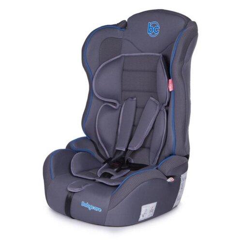 Автокресло группа 1/2/3 (9-36 кг) Baby Care Upiter Plus, серый/синий автокресло baby care nika гр 0 i ii 0 25кг серый серый
