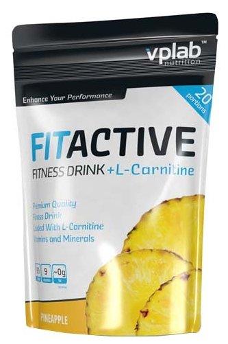 Изотоник VP Laboratory FitActive Fitness Drink + L-Carnitine (500 г)