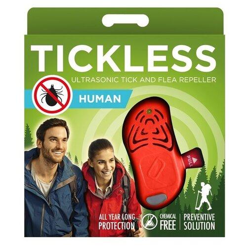 Ультразвуковой отпугиватель SITITEK Tickless Human от клещей 20 г оранжевый