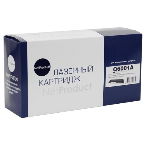 Фото - Картридж Net Product N-Q6001A, совместимый картридж net product n ep 27 совместимый