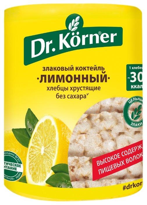 Хлебцы мультизлаковые Dr. Korner злаковый коктейль лимонный 100 г
