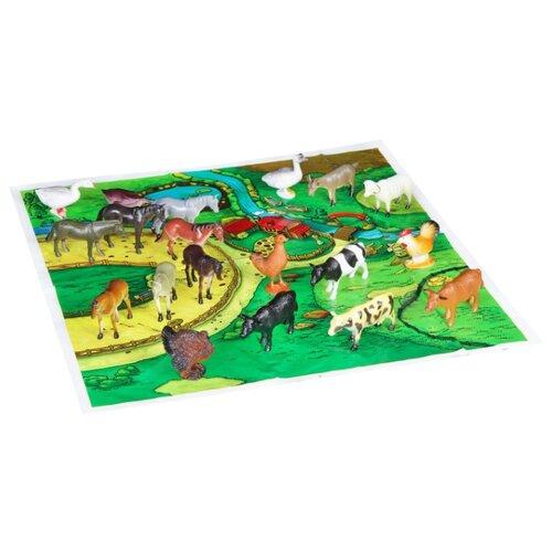 Купить Игровой набор BONDIBON Ребятам о Зверятах - Домашние животные и птицы ВВ1636, Игровые наборы и фигурки
