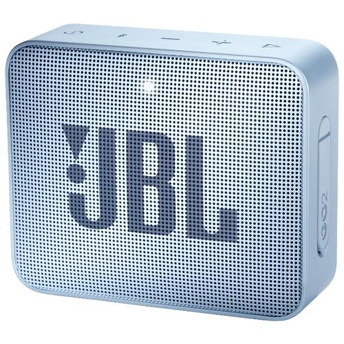 Купить Портативная акустика JBL GO 2 Icecube Cyan