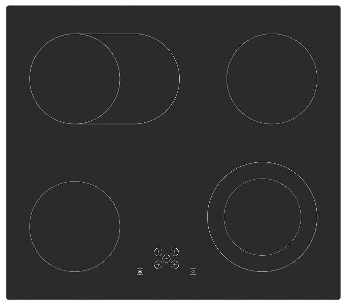 Варочная панель MONSHER MKFC 60402B01