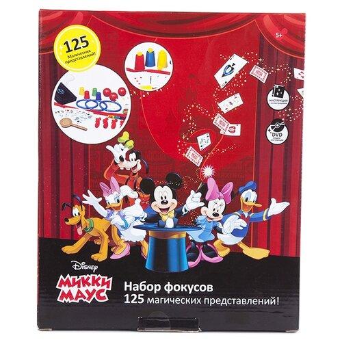 Купить Набор для фокусов Dongguan Jun Tong Toys Микки Маус №4 125 фокусов, Настольные игры