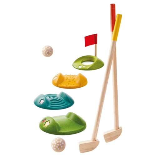 Купить Набор для игры в мини-гольф Plan Toys (5683), PlanToys, Спортивные игры и игрушки