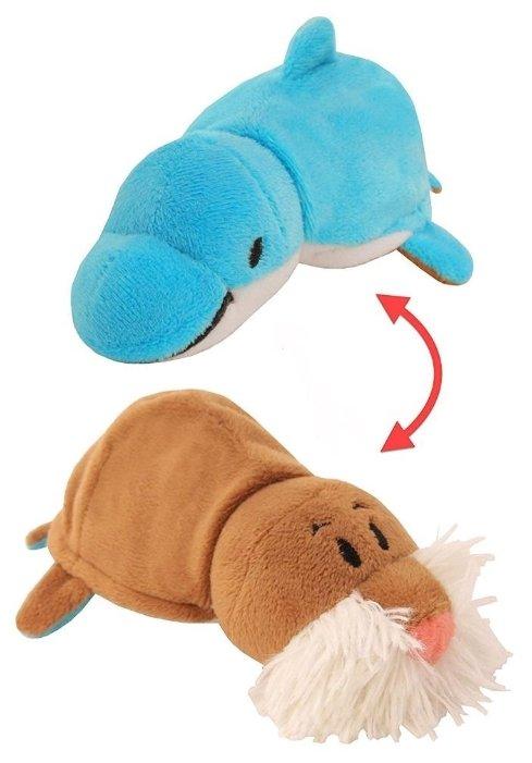 Купить <b>Мягкая игрушка</b> 1 TOY <b>Вывернушка</b> Морж-Дельфин <b>20</b> см ...