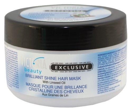 Victoria Beauty Exclusive Маска для волос Бриллиантовый блеск с льняным маслом