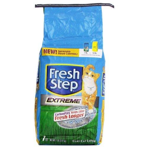Наполнитель Fresh Step Extreme Clay (3.17 кг)Наполнители для кошачьих туалетов<br>