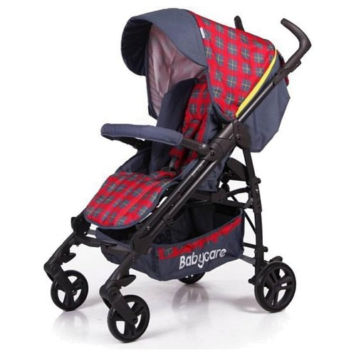 Прогулочная коляска Baby Care GT4 red 17Коляски<br>