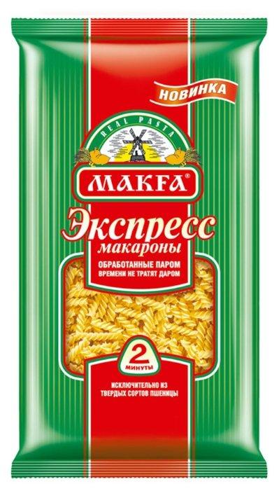 Макфа Макароны Экспресс спирали, 400 г