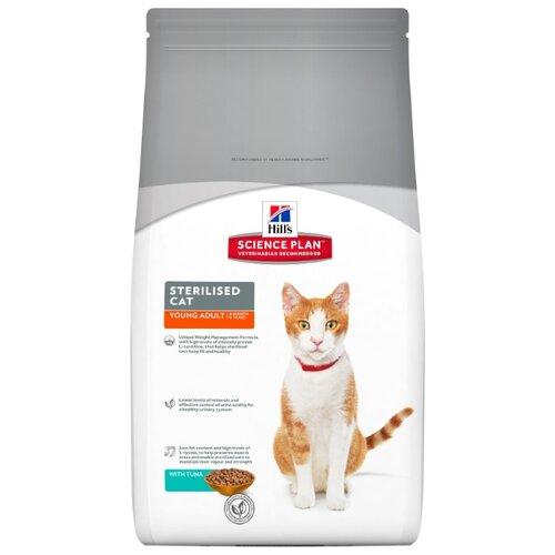 Корм для кошек Hills Science Plan Feline Sterilised Cat Young Adult with Tuna (1.5 кг)Корма для кошек<br>