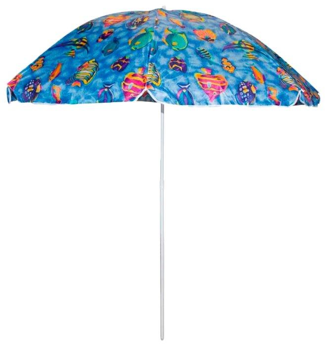 Пляжный зонт ECOS SDBU002A купол 200 см, высота 200 см