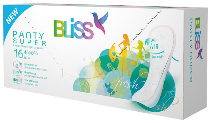 Bliss прокладки ежедневные Panty Super