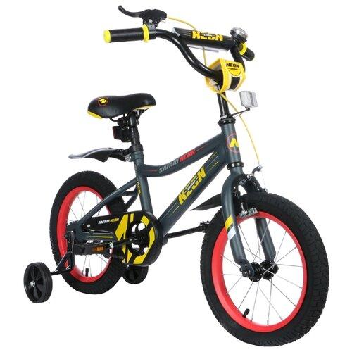 Детский велосипед Grand Toys GT9521 Safari Proff Neon желтый (требует финальной сборки)