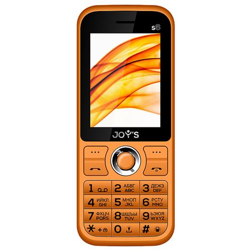 Телефон JOY'S S6 оранжевый телефон