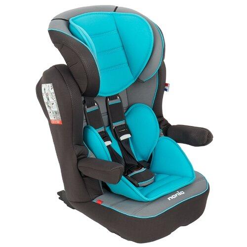 цена на Автокресло группа 1/2/3 (9-36 кг) Nania I-Max SP Luxe Isofix, blue/grey